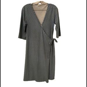 Synergy Organic Clothing Wrap Dress.